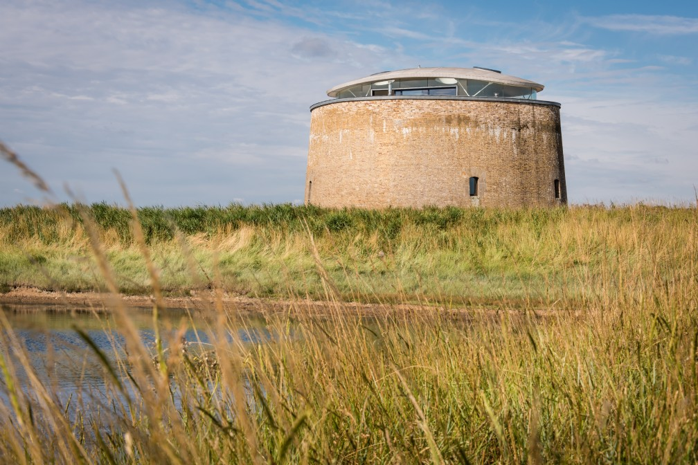 The Found | Luxury Self-Catering Martello Tower | Bawdsey, Woodbridge