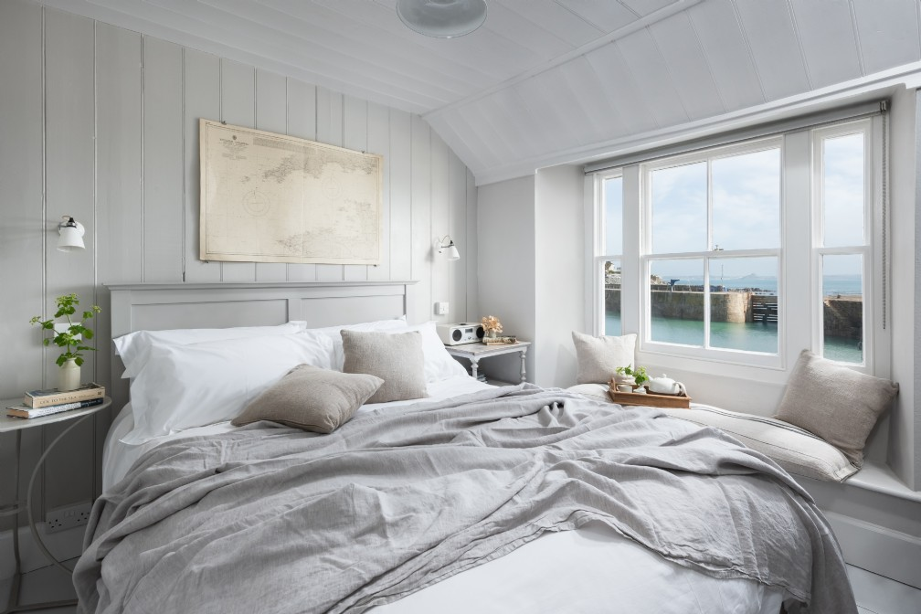 The Herringbone | Luxury Coastal Cottage | Mousehole, Cornwall