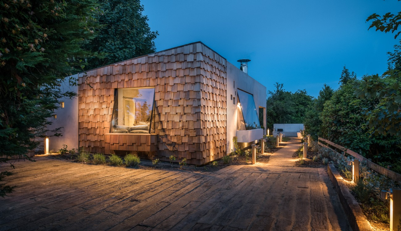 Modern Rustic Cottage Cornwall | Luxury Cottage with Hot Tub Cornwall