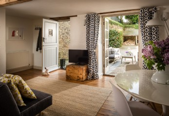 Luxury self-catering holiday home for couples Fowey, Cornwall