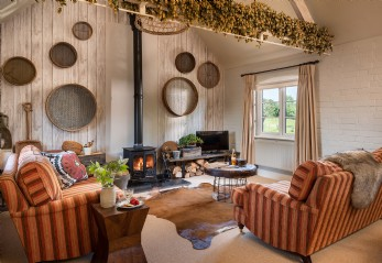 Luxury farm stay in Ledbury, Herefordshire