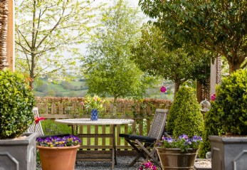 Luxury homestay near the Black Mountains Brecon Beacons England-Wales border