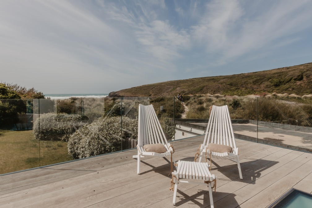Luxury self-catering beach house | Porthcothan Bay, Padstow, Cornwall