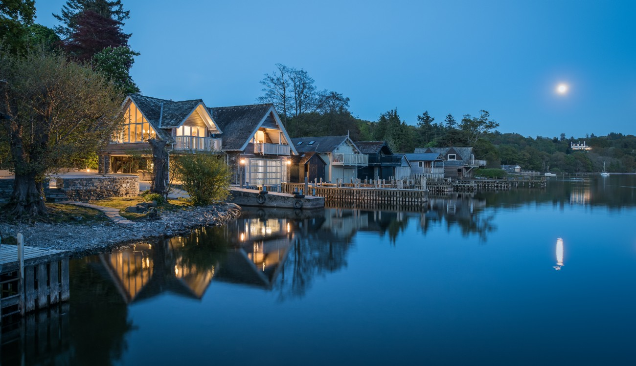 The Osprey | Luxury Self-Catering Boathouse | Lake Windermere