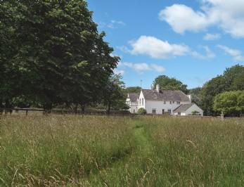 A grand Cotswold manor near Bibury