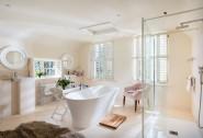 Relax in the master en suite bathroom