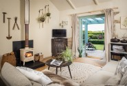 Relax and unwind at The Potting Shed near Watergate Bay