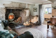 Cosy up next to the woodburner in this fairytale cottage by the Kennall Vale
