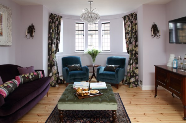 stylish tudor house boasting designers guild and osbourne little fabrics - Design Guild Homes