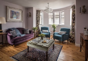 The Restoratory is a luxury self-catering home in Sandwich Bay, Kent