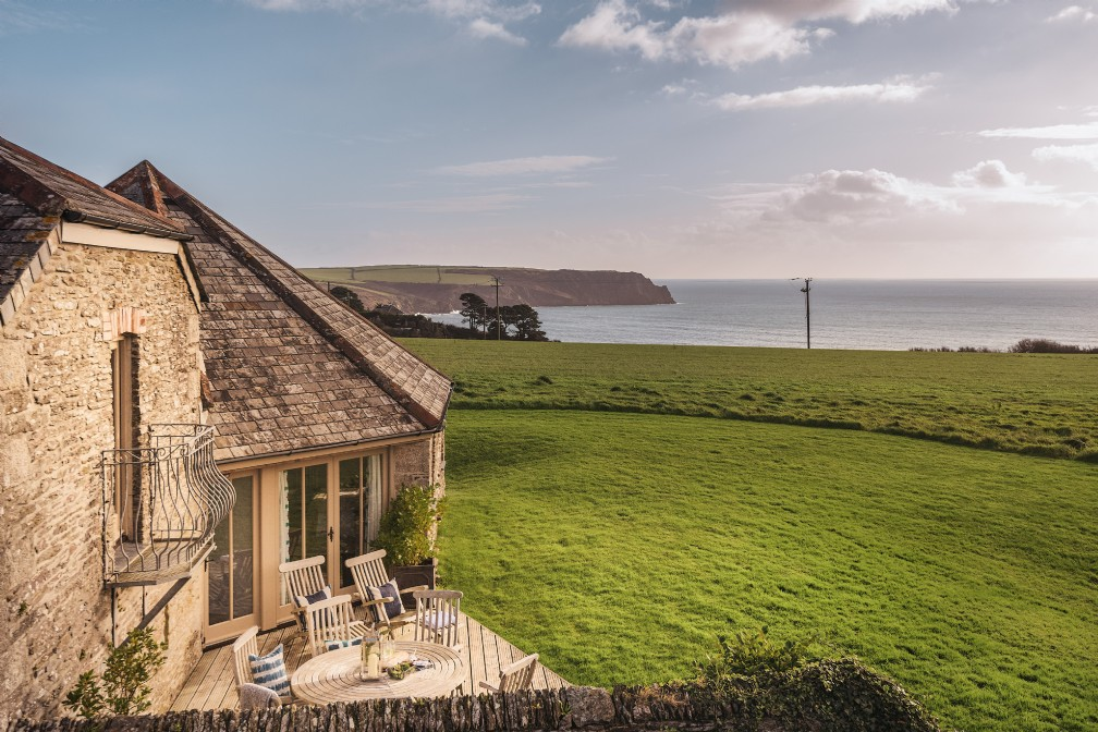 The Sea Barn | Luxury Coastal Self-Catering | Roseland Peninsula