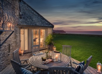 The Sea Barn, Roseland Peninsula, Cornwall, UK