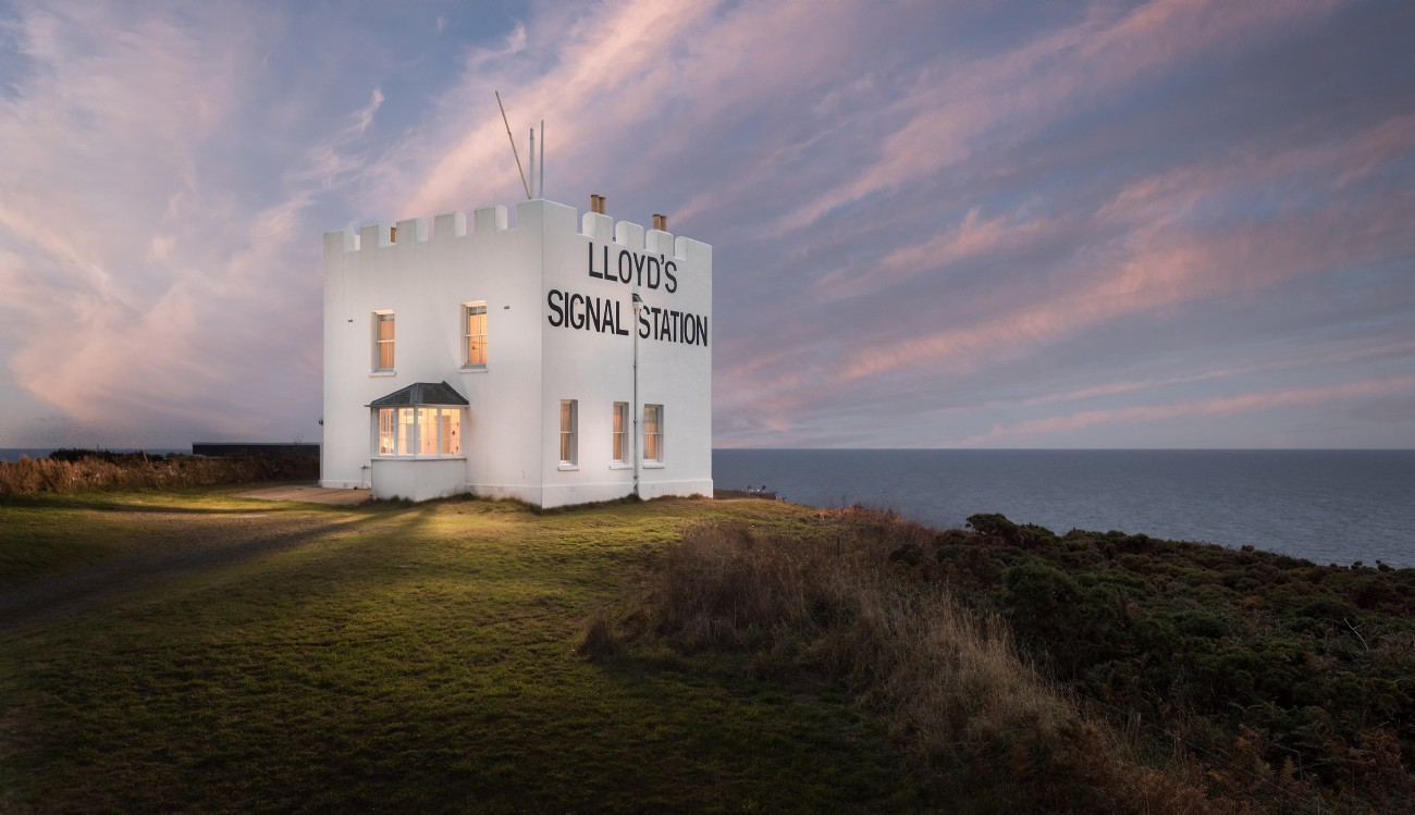 The Signal Station on the cliffs of the Lizard Peninsula, Cornwall