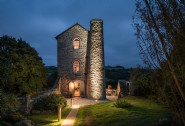 The Stack is a unique 19th century engine house in mid-Cornwall