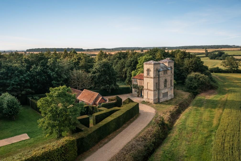 Unique Self-Catering Castle Folly | Grimsthorpe, Lincolnshire