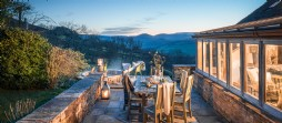Luxury property in the Brecon Beacons in Wales