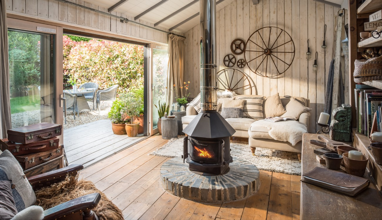 Cornwall Luxury Self-catering Home, The Wool Shed