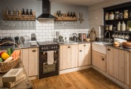 Self-catering kitchen with luxury liveability