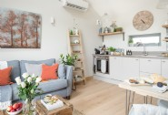 Open-plan living is perfect for couples
