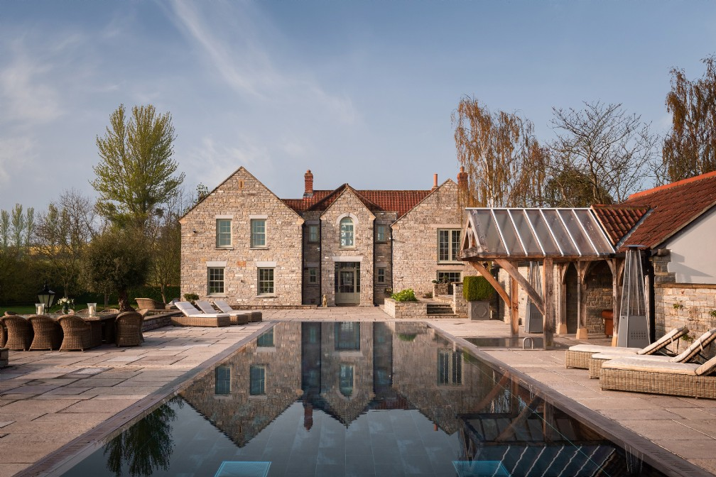 Viola | Luxury Self-Catering Home with Pool | Butleigh, Glastonbury