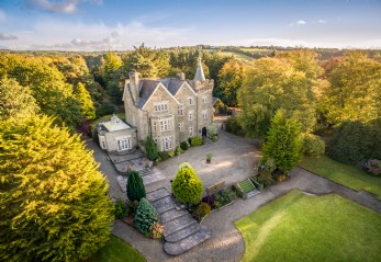 Exclusive manor house weddings in Ceredigion, Wales