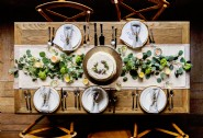 Create a rustic wedding celebration in Cornwall