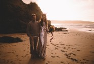 Steal a quiet moment on the nearby coast for idyllic wedding photos