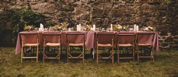 Rustic wedding venue in Cornwall