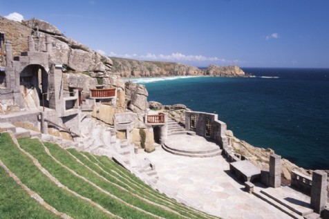 The Minack Theatre, Porthcumo