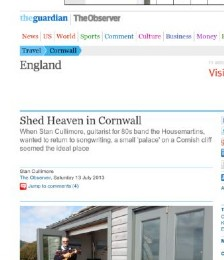 Shed Heaven in Cornwall