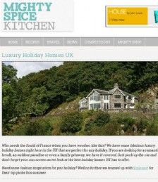Luxury Holiday Homes in the UK