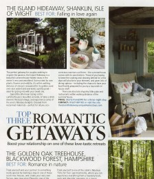 Top Three Romantic Getaways