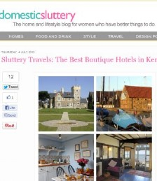 Sluttery Travels: The Best Boutique Hotels in Kent
