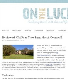 Reviewed: Old Pear Tree Barn
