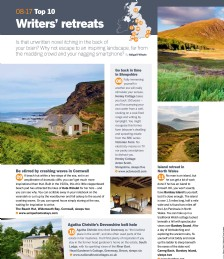 Top Ten Writers´ Retreats
