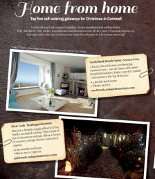 Love Christmas- Cornish Getaways