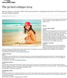 The 50 Best Cottages 2014