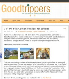 Three of the Best Cornish Cottages for Couples