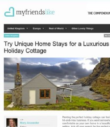 Try Unique Home Stays for a Luxurious Holiday Cottage