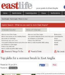 Top picks for a summer break in East Anglia