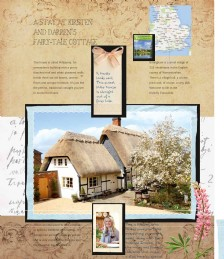 A stay Pollyanna, a fairy-tale thatched cottage
