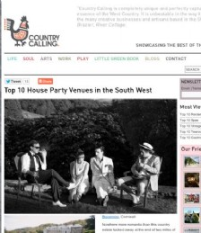 Top 10 House Party Venues in the South West