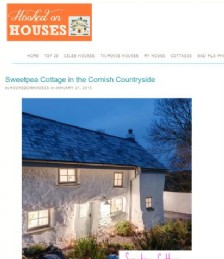 Sweetpea Cottage in the Cornish Countryside