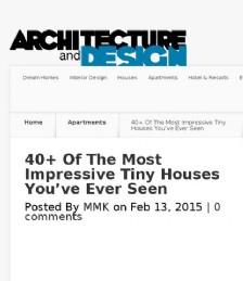 40 impressive tiny houses