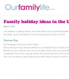 Family Holiday Ideas in the UK for Easter