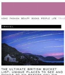 The ultimate British bucket list