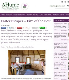 Easter escapes - five of the best