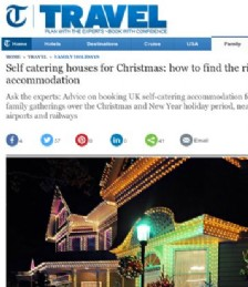 Self-Catering Houses for Christmas