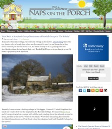 """Pixie Nook: A Storybook Cottage Reminiscent of Rosehill Cottage in """"The Holiday"""""""