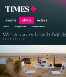 Win a Luxury Beach Holiday For Six